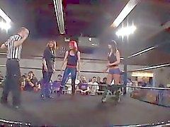 WWE Diva de paige Twerk son âne à d'un hommes coq chance
