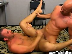 Hardcore gay Muscle Top Mitch Vaughn Slams Parker Perry