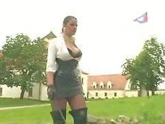 Lady got her slave punished