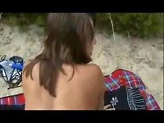 Sex with my ex on the nudist beach