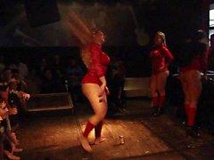 Spesso brasiliana danzante di bellezza Umfang Prt uno