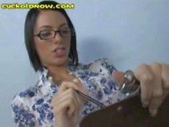 Дамская Доктор издевается над своей Penis
