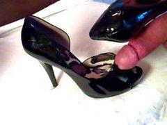 Patentansökan och skinn Öppen Toe för Pumpar sänk få pumpas 3