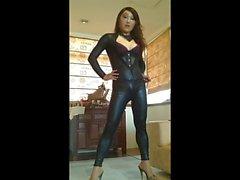 Vestido de PVC