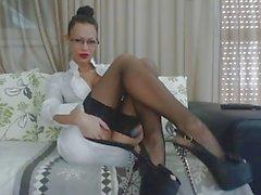 sexy sekreteraren MiaMaxxx delvis 2