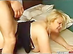 French Mature Fucked Deep Anal