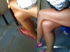 Istantanea piedi e scarpe sexy del insieme 2