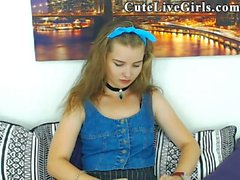Mom Shaved Webcam Teen Toyplaying E1