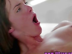 Young beautiful couple hot anal loving