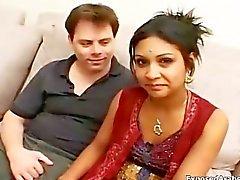Cock любовью Индии Princess получает выебанная part2