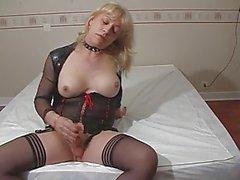 Diana Shemale Masturbate 2