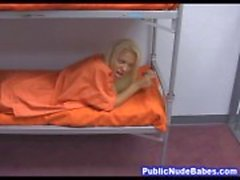 Prison Slutty huora Deep Throat Blowjob