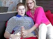 Naughty mother in law Darryl seduces guy