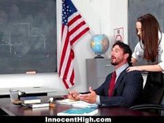 UnheimlichHigh - School Girl Desperate Für Lehrer Hahn