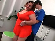 Şişko bir kız sıska bir adamı baştan çıkarır