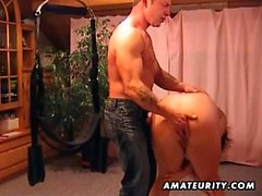 Acción fetiche BDSM fetiche con pelirroja