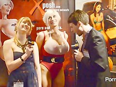 PornhubTV Marie Claude Bourbonnais Interview at 2013 AVN Awards