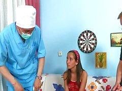 Russian Teen Dusya Threesome