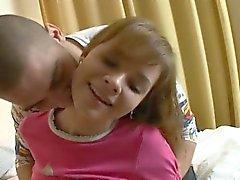 Volljährigkeit Jugendlichem erstaunlich Mädchen erhält verdammt überraschen