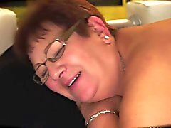 Chubby Granny Creampied