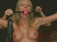 mature bitch gets tied up and fucked anally