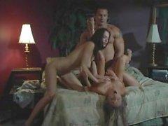 Моник Александр а Ander Пейдж секс втроем очень горячим