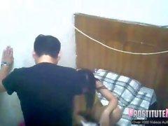 Brothel cámara espía prostitución asiática