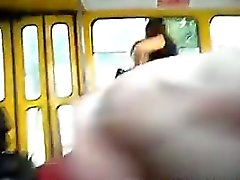 Flashing My Cock On The Bus
