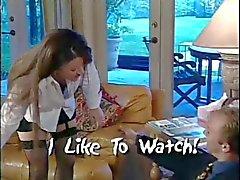 Classic Rondborstige Olivia Parrish en Vriend Foursome