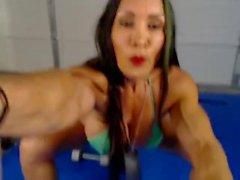 Denise In Webcam 2-14-2015