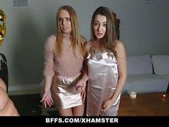 BFFS - Sorority Minions nehmen an Halloween-Orgie teil