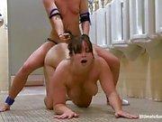Tart Ariel Carmine slams Bella Rossi up her twat