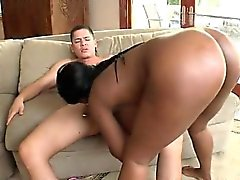Big Black Butt Dark Girlfriend