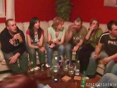 Hausgemachte Swingers Party Tschechisch