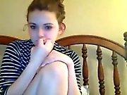 Hot Teen Webcam Girl With Hitachi 5