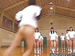 Superheißes Japanerinnen blinkt