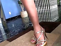 Asian ladyboy Taylor charming solo play