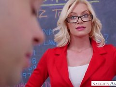 Hot Teacher With Sperm In Cunt (1080)