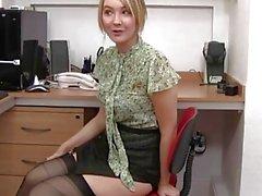 Katie K Office Slut