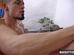 Big dick gay flip flop and facial