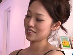 Ann Yabuki, esposa sexy, fica fodido até a exaustão