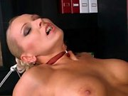 Hot pornstar dp and cumshot
