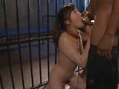 Black interrogators tortured a Japanese female spy 4