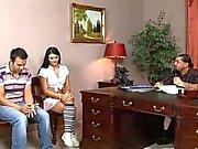 Titus , Leslie & Jazmín ÇİFT CREAM PIE ( ( Cochinadas ) )