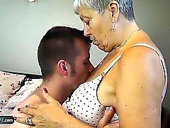 Granny Savana fodido com vara realmente difícil