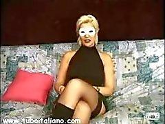 Italienische Frau Rom Coppia Romana