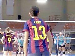 De los bodys SEXYS en de voleibol