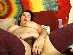 Full bush hairy n busty teenager Eva Sunshine