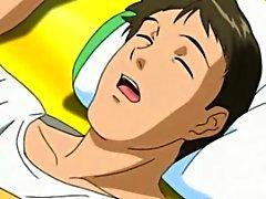 Mulher do Anime picar hot por trás pelo pervertida