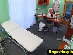 Medical fetish voyeur doc fucks a new start